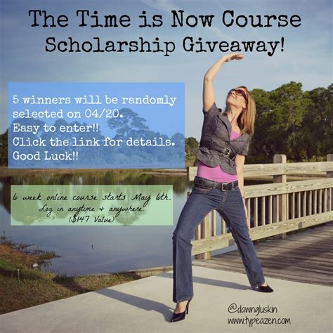 Scholarship Sweepstakes - who says business has no soul blissed communications