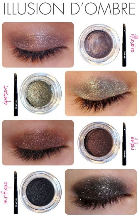 Eyeshadow Chanel best 25 chanel illusion d ombre ideas on