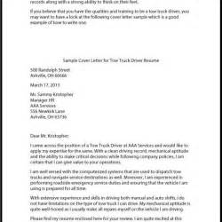 goodly truck driver cover letter letter format writing