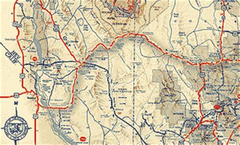 us road map arizona route 66 arizona map pdf