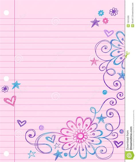 free cute printable notebook paper background cute notebook google search backgrounds