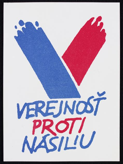 verejnost proti nasiliu poster va search  collections
