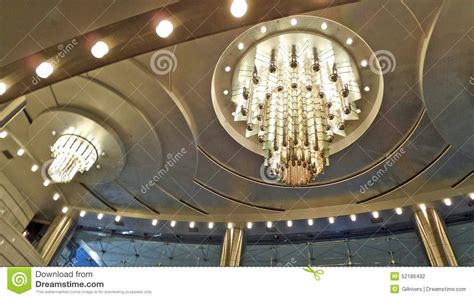 Ceiling Light Show Ceiling Lighting Stock Photo Image 52186492