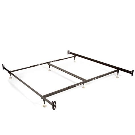 metal bed frame walmart adjustable bed frame for headboards and footboards