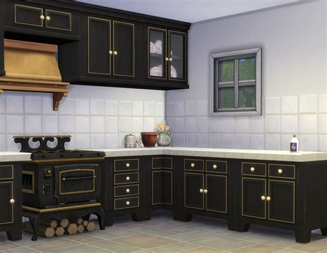 kitchen mod mod the sims country kitchen