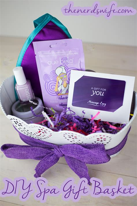 Gift Baskets For S Day Diy Spa Gift Basket The S