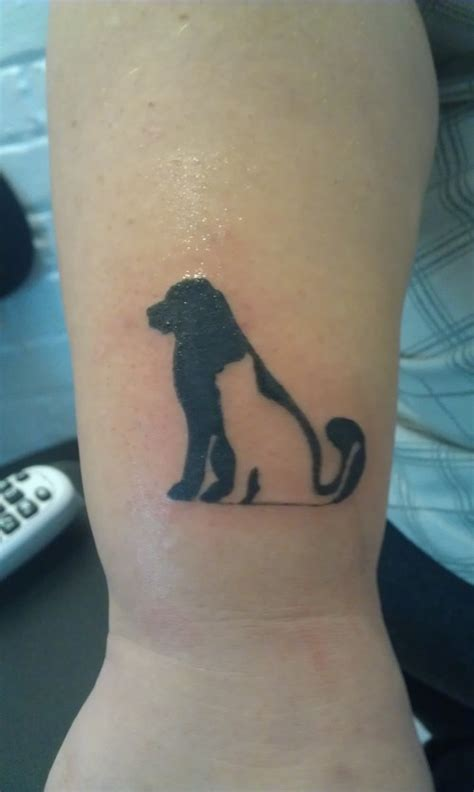 Tattoo Cat And Dog | sarah s cat dog silhouette tattoo picture at