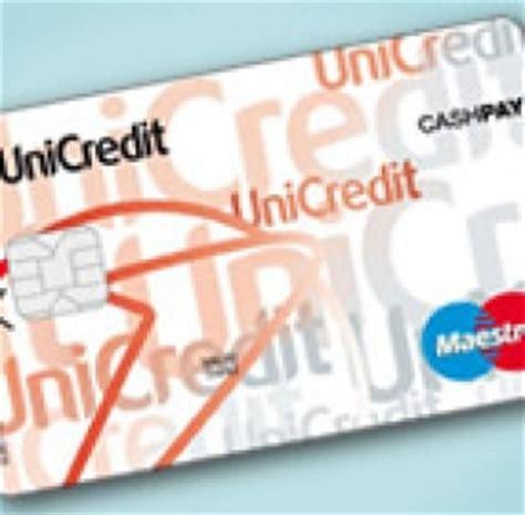 codice bic unicredit bancomat la carta di debito maestro dotata di microchip