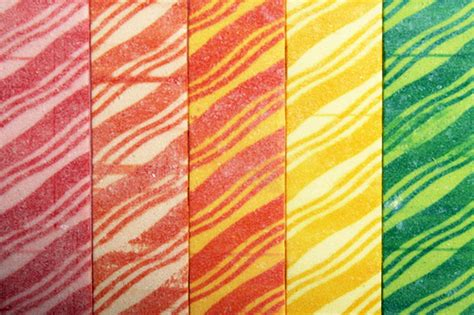 zebra gum tattoos children of the 90s fruit stripe gum