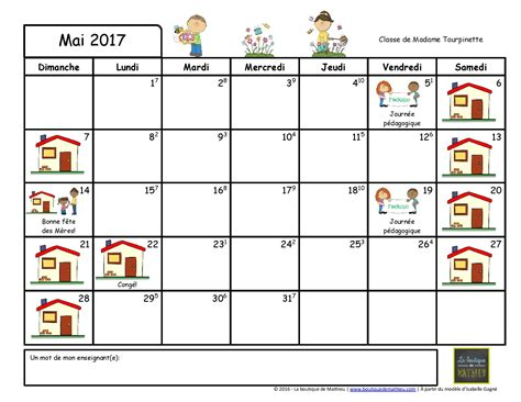 Calendrier 2017 Une Page Image Calendrier 2017 Image Calendrier Scolaire 2017 Image