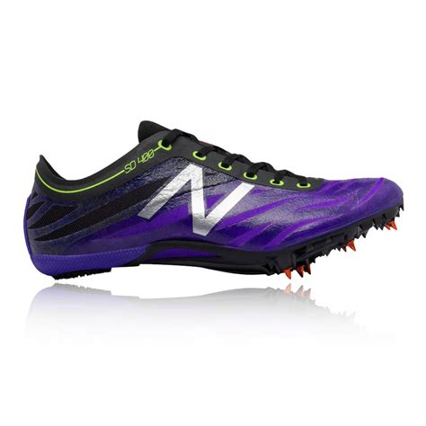athletic running shoes spikes new balance wsd400v3 womens purple black athletic sprint