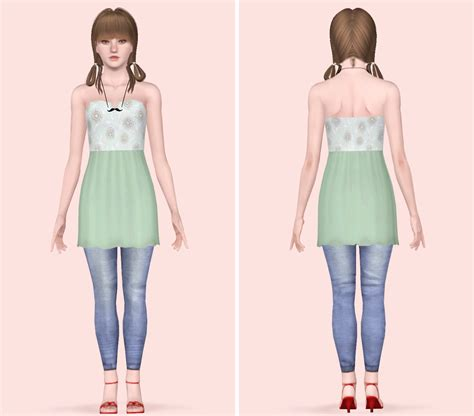 sims 3 teen clothes my sims 3 blog clothing converted for teen females by