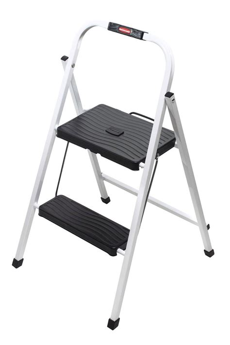 Tricam Step Stool by Rubbermaid Rm Hsp2 Folding 2 Step Lightweight Steel Step