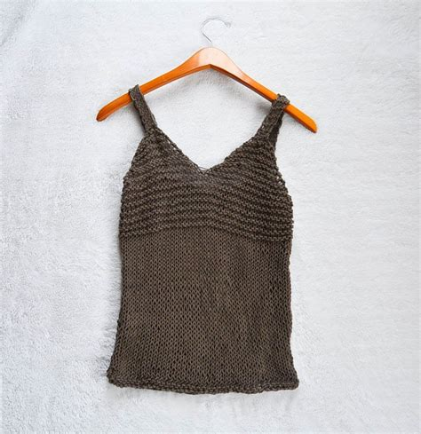 knit a tank top simple tank top knitting pattern allcrafts free crafts