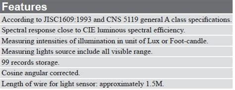 alibaba jobstreet led display licht spectrum meter met ce iso het testen