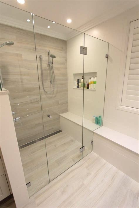 Can I Wash Whites With Colors - st ives master ensuite white washed wood look tiles flow through seat double shower st