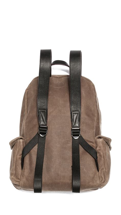 Marc By Marc Exclusive Canvas Backpack lyst marc by marc canvas backpack in for