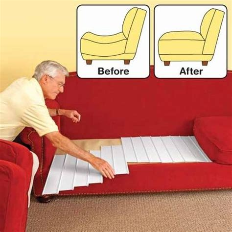how to fix a couch cushion quot furniture fix 6 panel set support for sagging