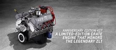 Chevrolet 427 Crate Engine Anniversary 427 Big Block Crate Engine Chevrolet 2016