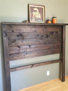 Rustic Wood Headboards by Best 10 Rustic Headboards Ideas On Diy