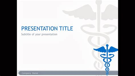 superb powerpoint free template medical symbol template