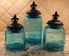 fleur de lis küchen kanister inexpensive kitchen glass canisters