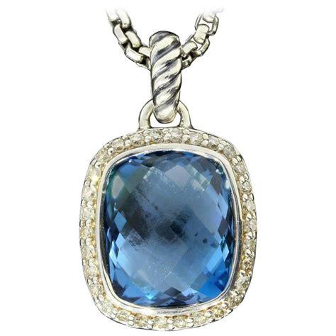 david yurman blue topaz sterling silver noblesse