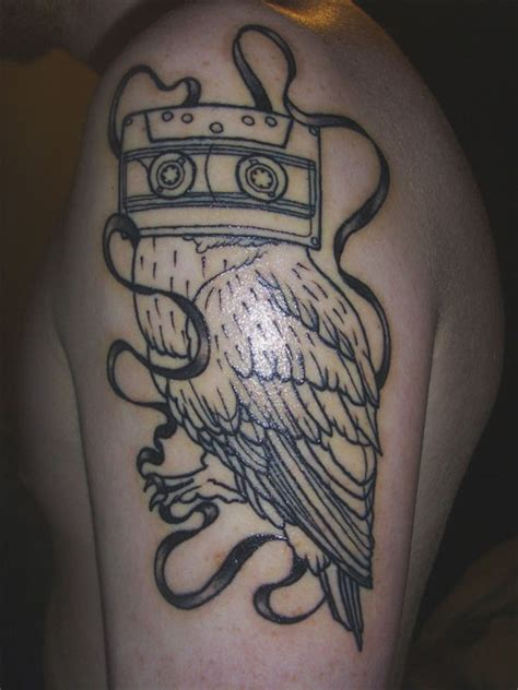 tattoo owl music 35 awesome tattoos you can engrave on your body creativefan