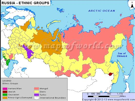 russia population map 2013 population and settlement russia