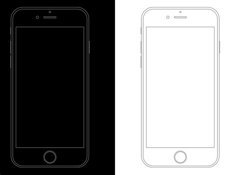 adobe illustrator iphone template free minimal apple iphone 6s wireframe templates psd titanui