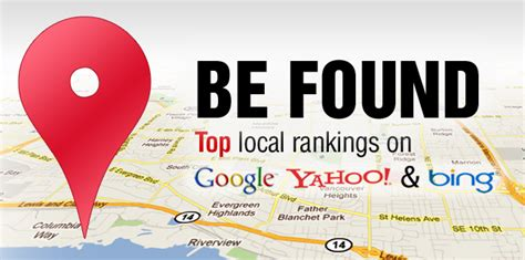 Local Finder Marketing Map Places Optimization Loal Seo