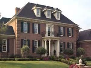 brick colonial house old brick colonial homes red brick colonial homes