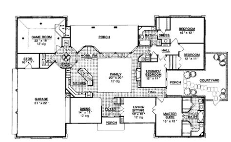 house plans with atrium in center search house