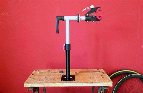 bench mount bicycle repair stand review bench mounted bike repair stand from bd bikes
