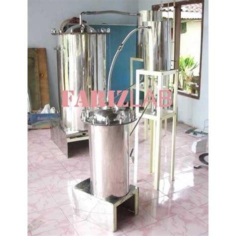 Minyak Atsiri jual alat destilasi minyak atsiri alat penyulingan