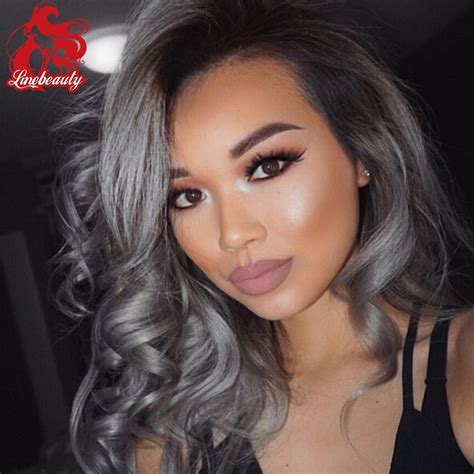 Rambut Palsu Ombre front lace wig ombre grey ready st end 6 2 2018 10 38 pm