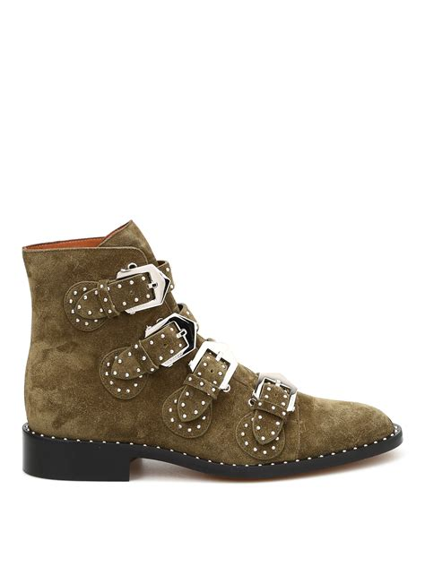 studded suede ankle boots by givenchy ankle boots ikrix