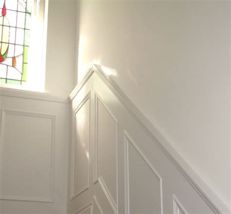 Wainscoting Panels Uk by Inspiring Painted Wall Paneling Home Remodel Wood