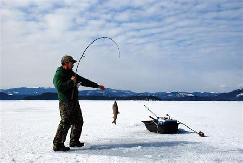 pictures of fishing the best winter activities