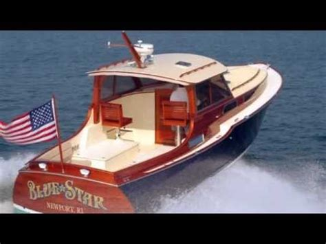 motorboat how to start blue star custom classic wooden boat youtube