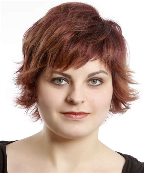 casual daytime hairstyles short straight casual hairstyle with razor cut bangs