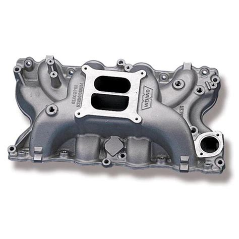 weiand stealth dual plane intake ford 429 460 idle 6800
