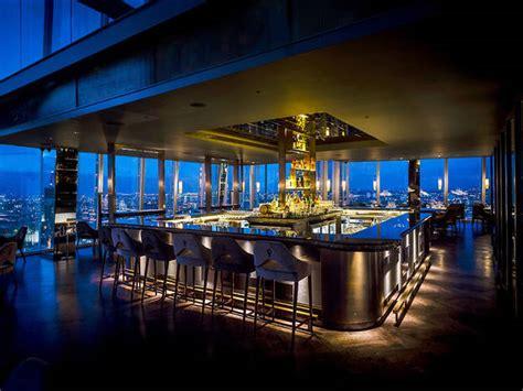 bar at top of shard atrium bar at aqua shard bars and pubs in london bridge