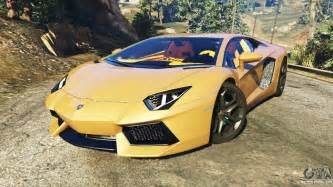 Where To Find A Lamborghini In Gta 5 Lamborghini Aventador Lp700 4 V0 1 For Gta 5