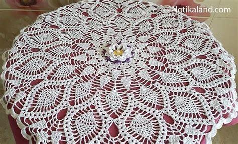Notikaland Crochet Patterns notikaland crochet lace pineapple doily