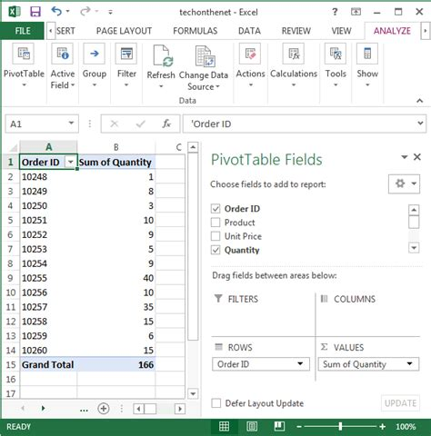 format pivot table excel 2007 pivot table multiple sources excel 2007 ms excel 2007