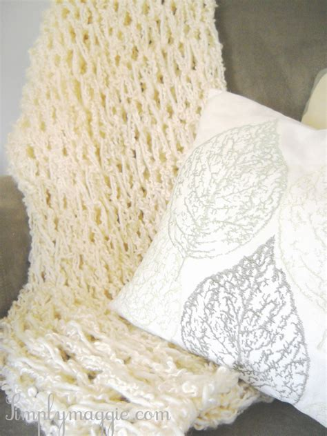 how to arm knit blanket how to arm knit a blanket in one hour simplymaggie