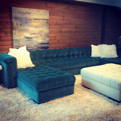 teal leather sectional sofa best 25 tufted sectional ideas on pinterest