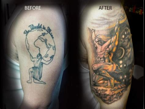 cover tattoos for men coverups language nyc