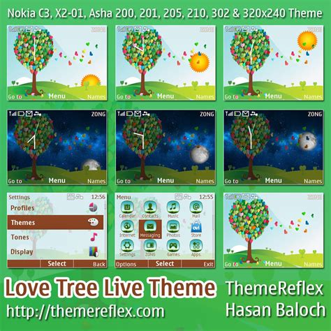 themes love nth download asha 210 nth theme auto design tech
